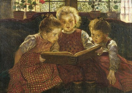 Walther Firle (German artist, 1859–1929) The Fairy Tale